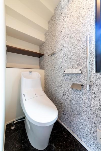 お客様邸のトイレです。| 郡山市 新築住宅 大原工務店のブログ
