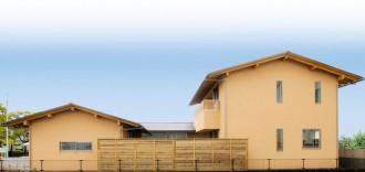 和風住宅を現代風にアレンジしたデザイン住宅-外観-|郡山市 注文住宅 大原工務店の施工例