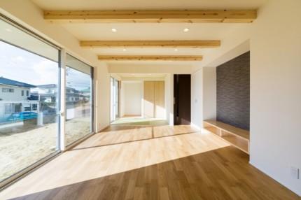 大原工務店で建ててくださったY様邸リビングです。田村町桜ヶ丘| 郡山市 新築住宅 大原工務店のブログ