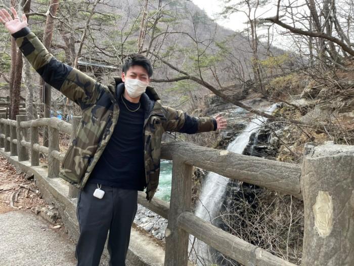 滝と僕です。栃木県日光市 郡山市 新築住宅 大原工務店のブログ