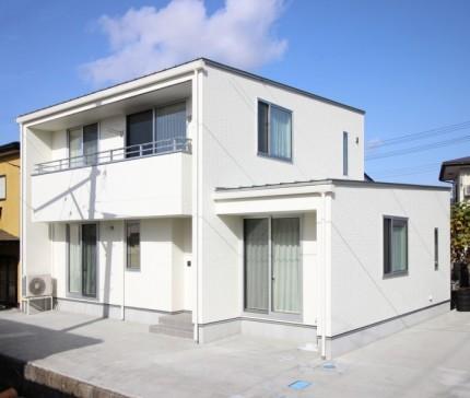 R様邸外観です。福島県会津若松市  郡山市 新築住宅 大原工務店のブログ
