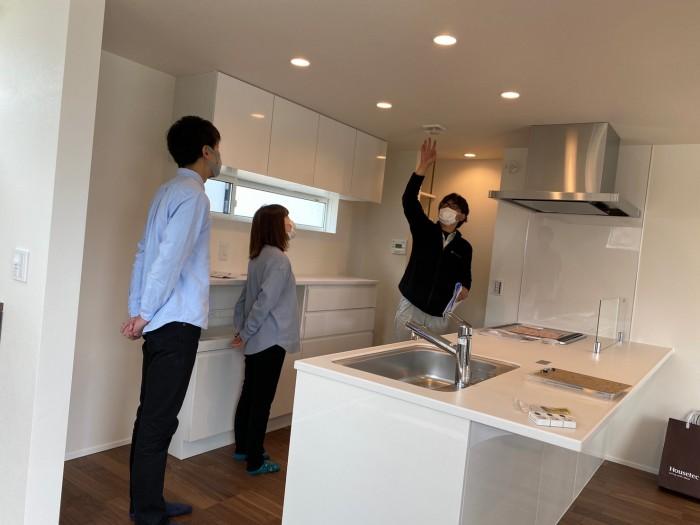 住宅設備などの説明も行います!| 郡山市 新築住宅 大原工務店のブログ