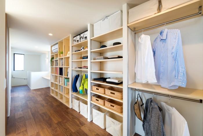 モデルハウス「シンフォニー」ファミリークローク|郡山市 新築住宅 大原工務店のブログ