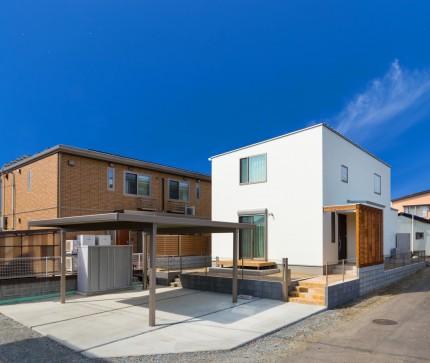 新築注文住宅S様邸 外構です。郡山市開成|郡山市 新築住宅 大原工務店のブログ