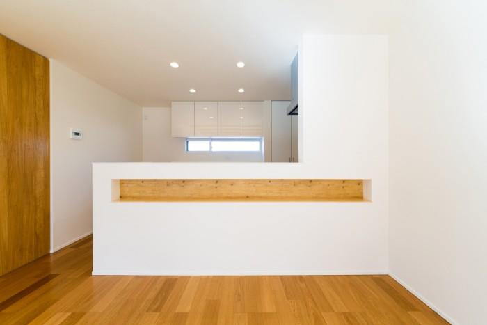お客様邸のキッチンカウンターです。| 郡山市 新築住宅 大原工務店のブログ