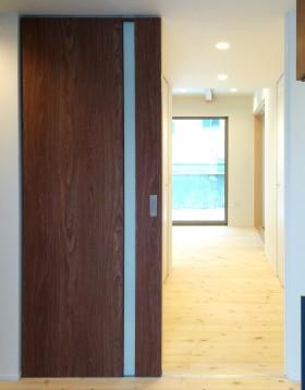 シンプルを追求した箱型住宅~リビング~|郡山市 注文住宅 大原工務店 施工例