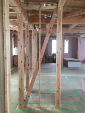 モデルハウス 木工事が進んでいます♪