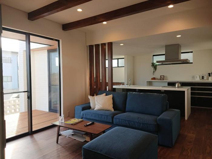 郡山市安積町モデルハウス「シンフォニー」リビングです。| 郡山市 新築住宅 大原工務店のブログ