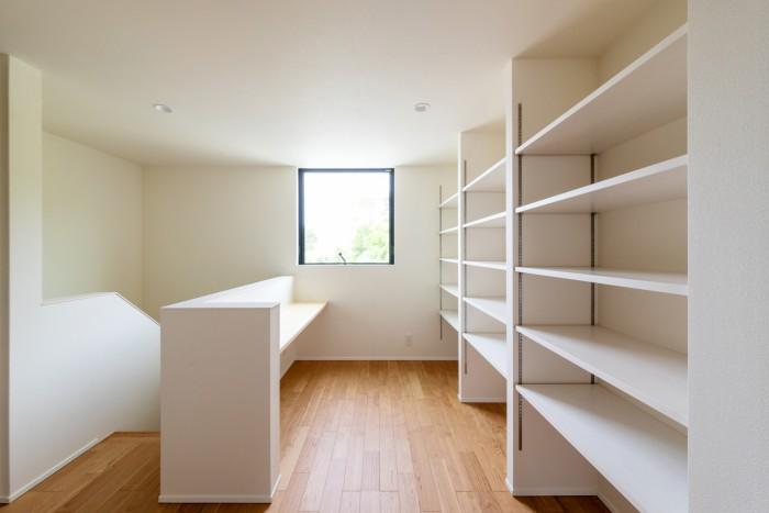 W様邸2階フリースペースです!| 郡山市 新築住宅 大原工務店のブログ