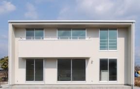 シンプルモダンな「箱型」の家jupiter cube|郡山市 デザイン住宅 大原工務店の商品ラインアップ