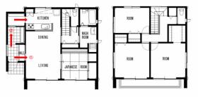 郡山市モデルハウス「ライフボックス」間取り 郡山市 新築住宅 大原工務店のブログ