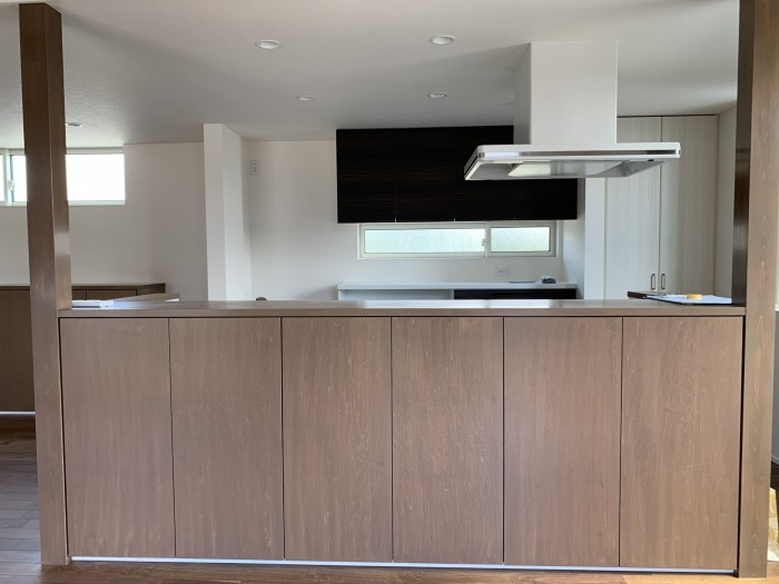 今回見学会を行ったお客様邸のキッチンです!| 郡山市 新築住宅 大原工務店のブログ