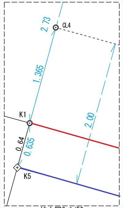 小原田Z様邸セットバック(測量) |郡山市 新築住宅 大原工務店のブログ