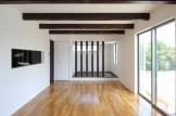 天井梁と化粧柱が素敵なリビングダイニングルーム| 郡山市 新築住宅 大原工務店のブログ