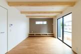 W様邸のリビングルームには造作のテレビ台を設けました!| 郡山市 新築住宅 大原工務店のブログ