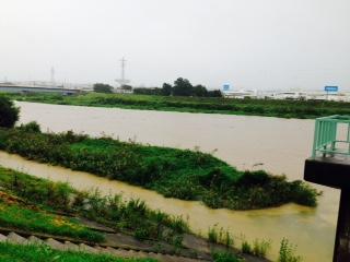 阿武隈川H27.9.10台風