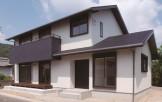 開放感溢れる和モダンな注文住宅AZUSA-外観-|郡山市 注文住宅 大原工務店の施工例