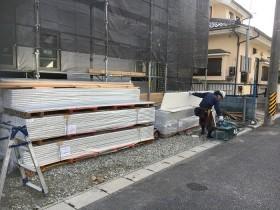 外壁を施工していきます 郡山市亀田 | 郡山市 新築住宅 大原工務店のブログ