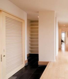 和風住宅を現代風にアレンジしたデザイン住宅-内観-|郡山市 注文住宅 大原工務店の施工例