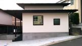 深い軒と片流れで形成される和モダンの家|郡山市 注文住宅 大原工務店の施工例