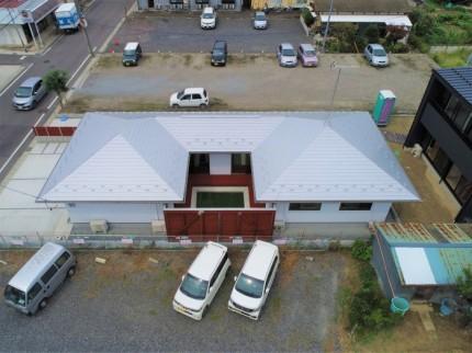 郡山市モデルハウスドローン撮影|郡山市 新築住宅 大原工務店のブログ