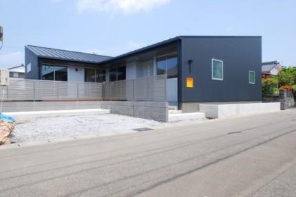 S様邸はカッコイイ平屋です。|郡山市 新築住宅 大原工務店のブログ