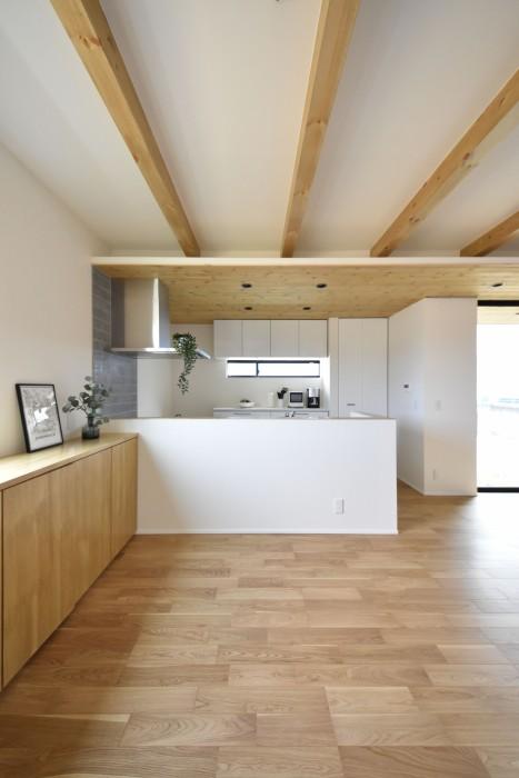 須賀川市H様邸キッチンです。|郡山市 新築住宅 大原工務店のブログ