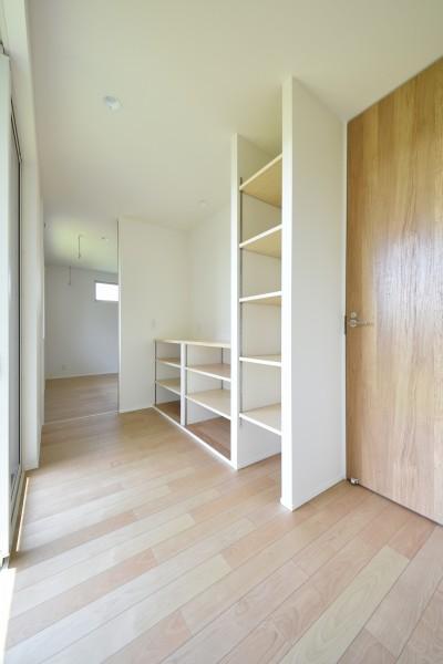 K様邸のフリースペースです。| 郡山市 新築住宅 大原工務店のブログ