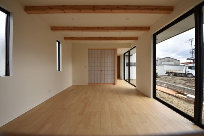 リビングに面した和室、その②|郡山市 新築住宅 大原工務店のブログ