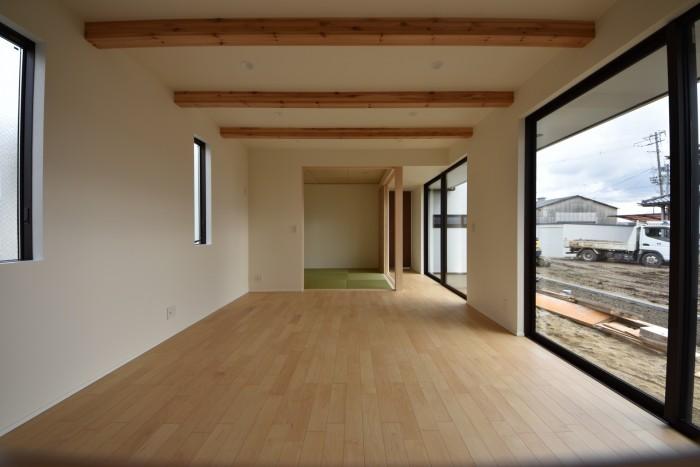 リビングに面した和室、その①|郡山市 新築住宅 大原工務店のブログ