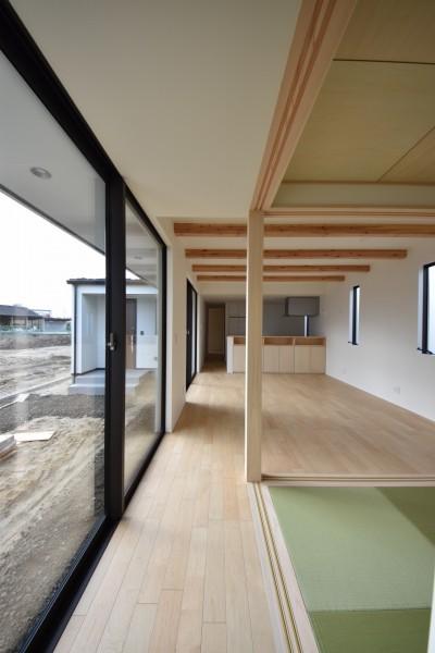 リビングに面した和室、その③|郡山市 新築住宅 大原工務店のブログ