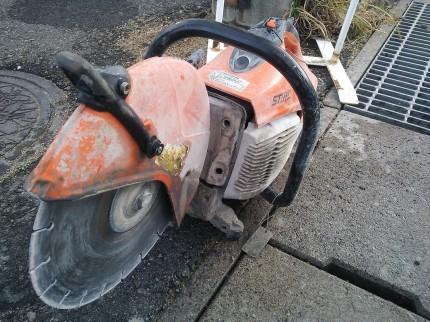 解体 コンクリートカッター