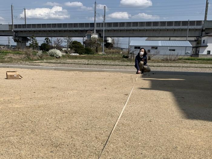 ロープを張ります!|郡山市 新築住宅 大原工務店のブログ