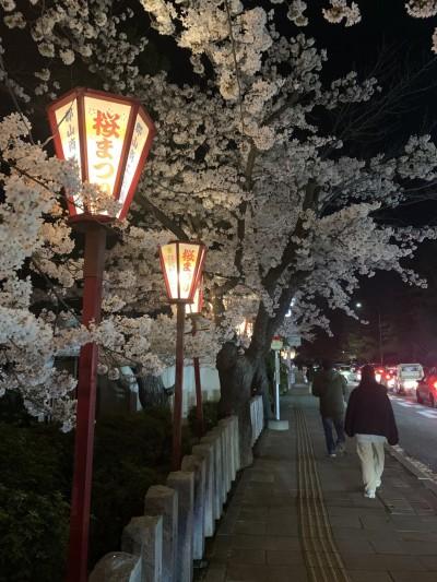 開成山の夜桜です(^^♪|郡山市 新築住宅 大原工務店のブログ