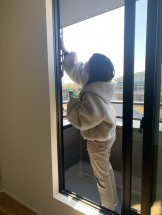 サッシのお掃除です。郡山市富久山町Y様邸| 郡山市 新築住宅 大原工務店のブログ