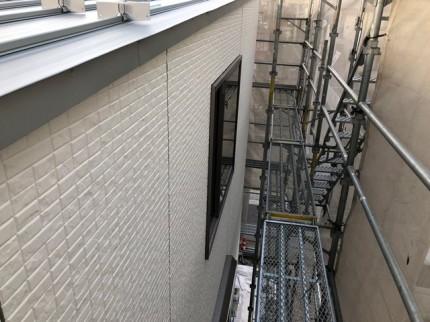 新築の外壁施工です。|郡山市 新築住宅 大原工務店のブログ