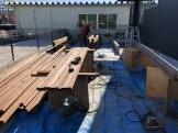 ウッドデッキとパーゴラの材料です。田村町船引町| 郡山市 新築住宅 大原工務店のブログ
