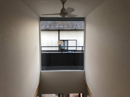 吹き抜けのリビングの天井です。郡山市大槻|郡山市 新築住宅 大原工務店のブログ