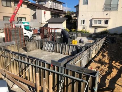 新築のべた基礎スラブコンクリートです。|郡山市 新築住宅 大原工務店のブログ
