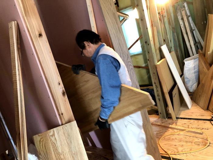 新築の階段の施工です。|郡山市 新築住宅 大原工務店のブログ
