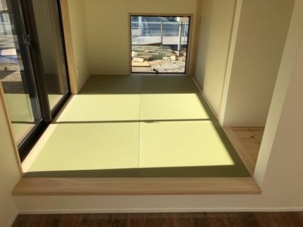 地窓のある和室です。郡山市大槻|郡山市 新築住宅 大原工務店のブログ
