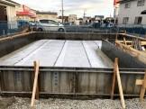 防湿シートを施工した状態です。郡山市安積町| 郡山市 新築住宅 大原工務店のブログ