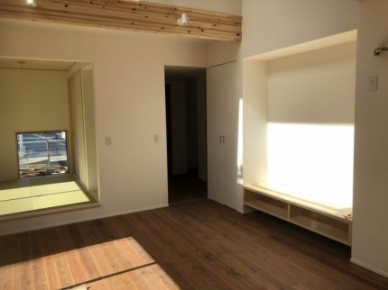ディテールが綺麗なリビングです。郡山市大槻町| 郡山市 新築住宅 大原工務店のブログ