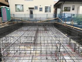 配筋工事が終わりました 郡山市安積町  郡山市 新築住宅 大原工務店のブログ