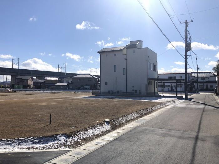 まず敷地の全景をを見ます。  郡山市 新築住宅 大原工務店のブログ
