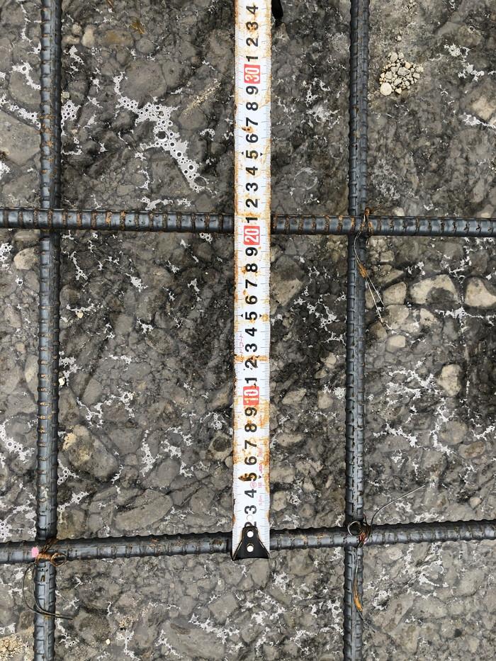 鉄筋のピッチの確認です。|郡山市 新築住宅 大原工務店のブログ