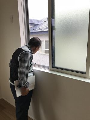 内部もチェックしていきます。|郡山市 新築住宅 大原工務店のブログ