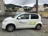 お馴染み、住宅センターさんの車です。|郡山市 新築住宅 大原工務店のブログ
