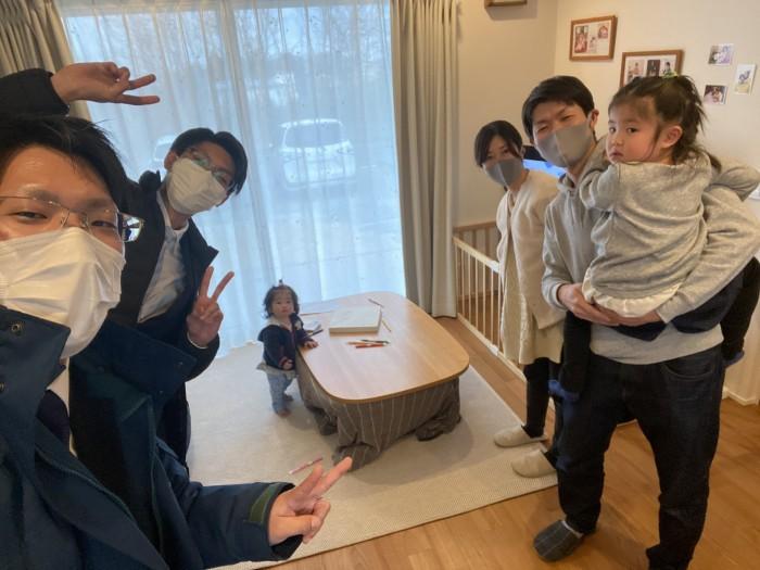 M様邸にお邪魔してきました。須賀川市森宿| 郡山市 新築住宅 大原工務店のブログ