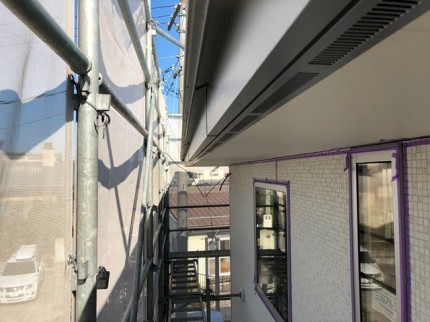 ガルバリウム鋼板の破風完成です。|郡山市 新築住宅 大原工務店のブログ